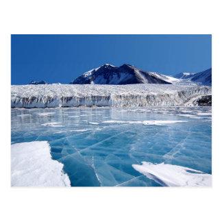 Die Antarktis Postkarte