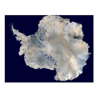 Die Antarktis SatellitenFotowissenschaft Reisebild Postkarte