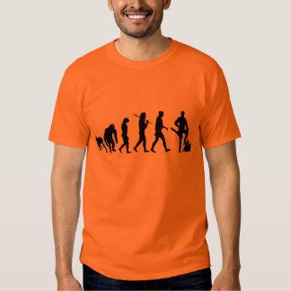 Die Arbeit der Holzfällerbaumholzfällerblockwinden T-shirt