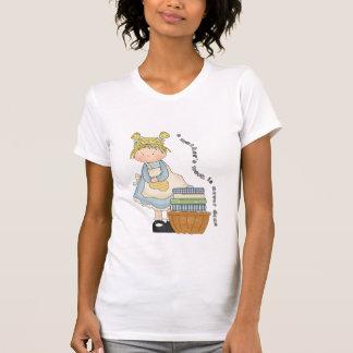 Die Arbeit einer Mutter ist nie getaner Petite T - T-Shirt
