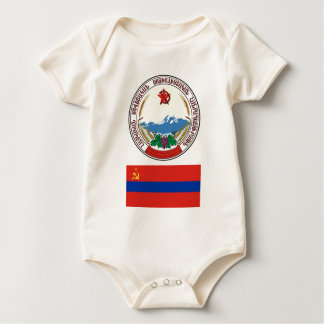 Die Arme und kennzeichnen den armenischen Baby Strampler