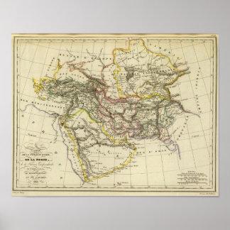 Die asiatische Türkei, Persien, Afghanistan Poster