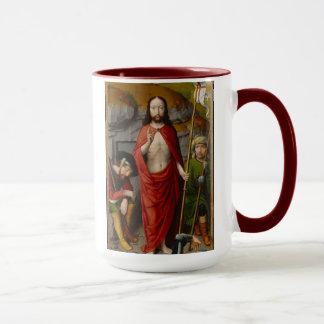 Die Auferstehung, mit den Pilgern von Emmaus Tasse