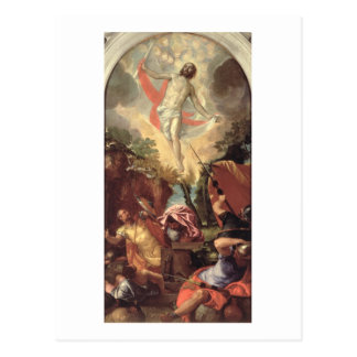Die Auferstehung von Christus (Öl auf Leinwand) Postkarte