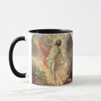 Die Auferstehung von Christus (Öl auf Leinwand) Tasse