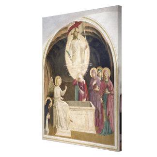 Die Auferstehung von Christus und von frommen Frau Leinwand Druck