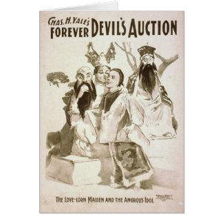 Die Auktion des Teufels Karte