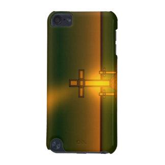 Die Aura-Licht des Gottes über dem Kreuz von iPod Touch 5G Hülle