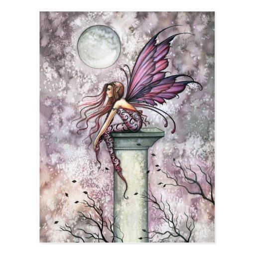 Die Ausblick-feenhafte Postkarte durch Molly Harri