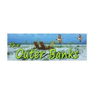 DIE ÄUSSEREN BANKEN GESPANNTE GALERIEDRUCKE