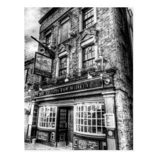 Die Aussicht von Whitby Kneipe London Postkarte