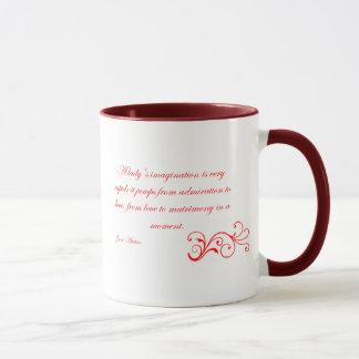Die Austen Sammlung - Imagination eine Dame Tasse