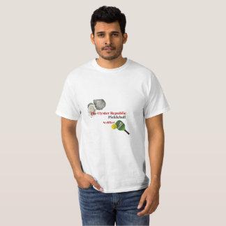 Die Austern-Republik Pickleball - Wellfleet T-Shirt
