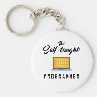 Die autodidaktischer Programmierer-Schlüsselkette Schlüsselanhänger