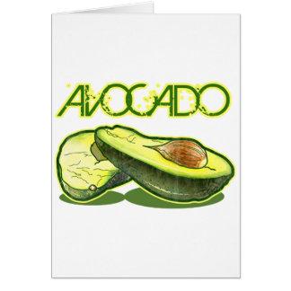 Die Avocado Karte