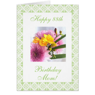 Die b-tägige Rose der Mutter 88. (Alter) Karte