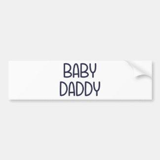 Die Baby-Mutter Baby Daddy (d.h. Vater) Autoaufkleber