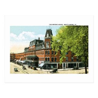Die Bäche Haus, Brattleboro, Vermont Postkarte