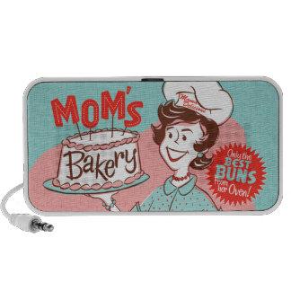 Die Bäckerei-Retro Lautsprecher der Mammas