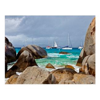 Die Bäder, Jungfrau Gorda, British Virgin Islands Postkarte