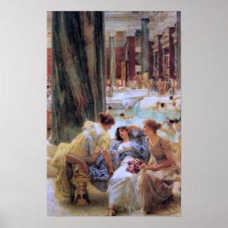 Die Bäder von Caracalla Poster