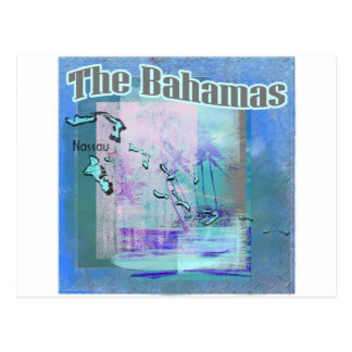 Die Bahama Blues Postkarte