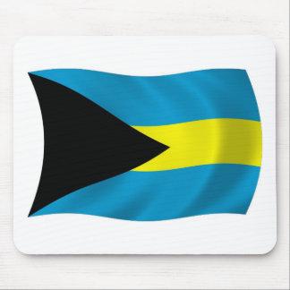 Die Bahamas-Flagge Mousepad