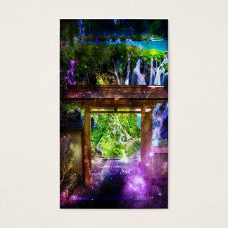 Die Bahn des Regenbogen-Universums zum Paradies Visitenkarte