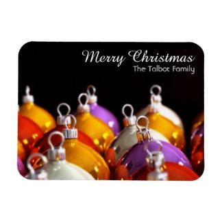 Die Ball-personalisierter Weihnachtsmagnet der Magnet