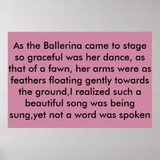die Ballerina Poster