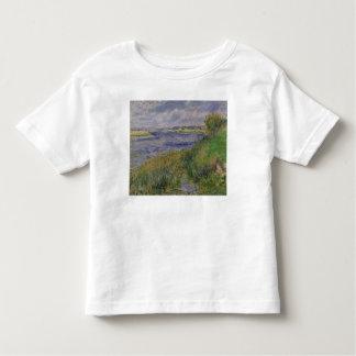 Die Banken der Seines, Champrosay, 1876 Kleinkinder T-shirt