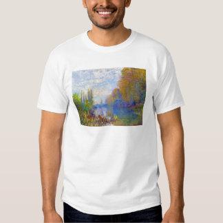 Die Banken der Seines im Herbst Claude Monet T Shirt