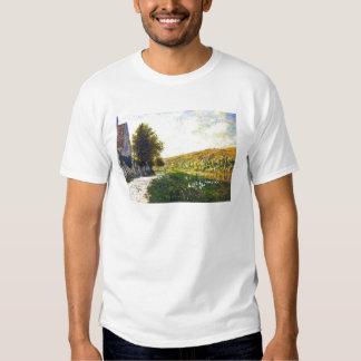 Die Banken der Seines, Lavacourt Claude Monet T Shirt