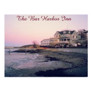 Die Bar-Hafen-Gasthaus-Postkarte Postkarte