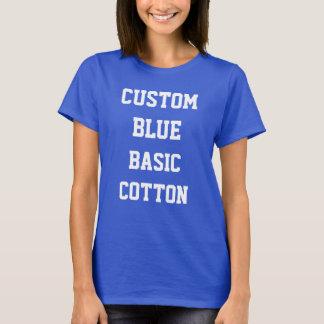 Die BASIC-BAUMWOLLT - Shirt der kundenspezifischen
