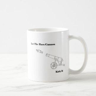 Die Bass-Kanone Kaffeetasse