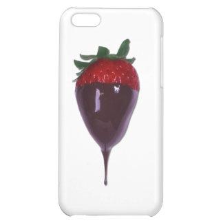 Die bedeckte Schokolade tauchte Erdbeere ein iPhone 5C Hüllen