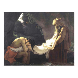 Die Beerdigung von Atala Postkarte