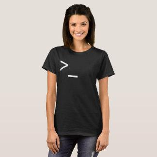 Die Befehlszeile Zauberer T-Shirt