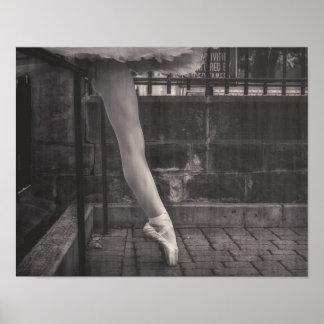 Die Beine des Tänzers Poster
