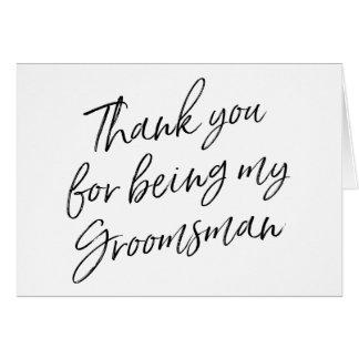 """Die beschriftete Hand """"danken Ihnen für Sein mein Karte"""