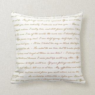 Die Best-Zitate von Jane Austen Kissen