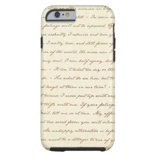 Die Best-Zitate von Jane Austen Tough iPhone 6 Hülle