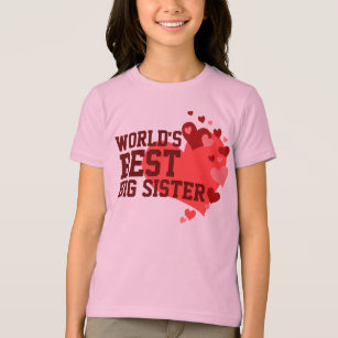 die beste gro e schwester der welt t shirts. Black Bedroom Furniture Sets. Home Design Ideas