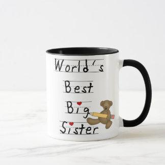 Die beste große Schwester der Welt Tasse