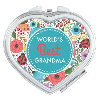 Die beste Großmutter der Welt Schminkspiegel