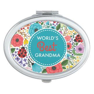Die beste Großmutter der Welt Taschenspiegel