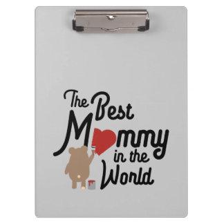 Die beste Mama in der Welt Zm0vd Klemmbrett