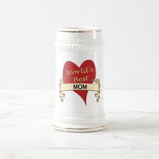 Die beste Mamma der Welt Bierglas