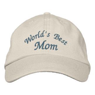 Die beste Mamma der Welt niedlich Besticktes Baseballcap
